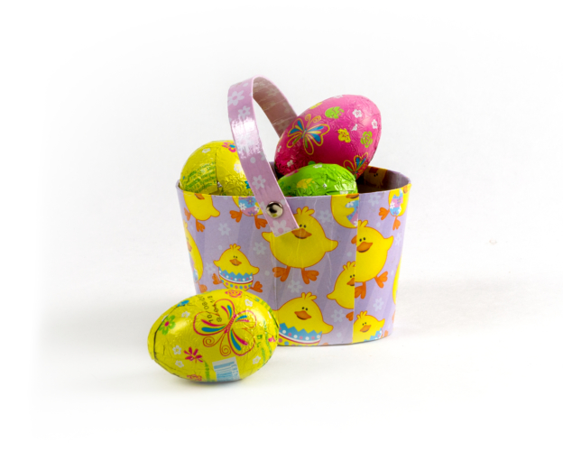 74280 Easter Basket Small 105 gram