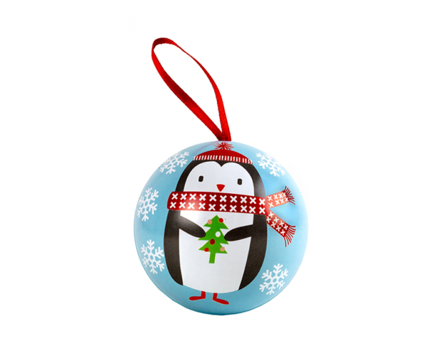 40336 Chocolate filled christmas ball 15 gram