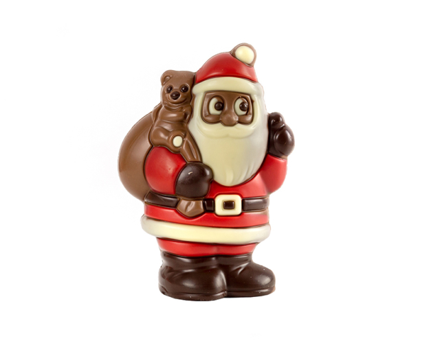 55552 Santa Claus Bag Teddy 75 gram