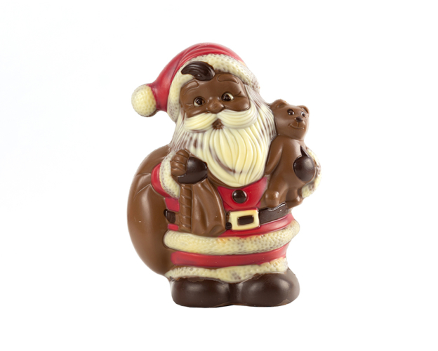 55576 Santa Claus with Teddy 300 gram