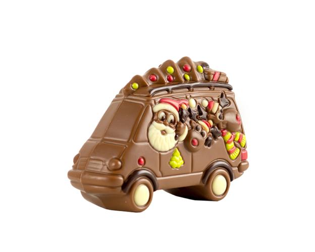 55620 Santa in bus 100 gram