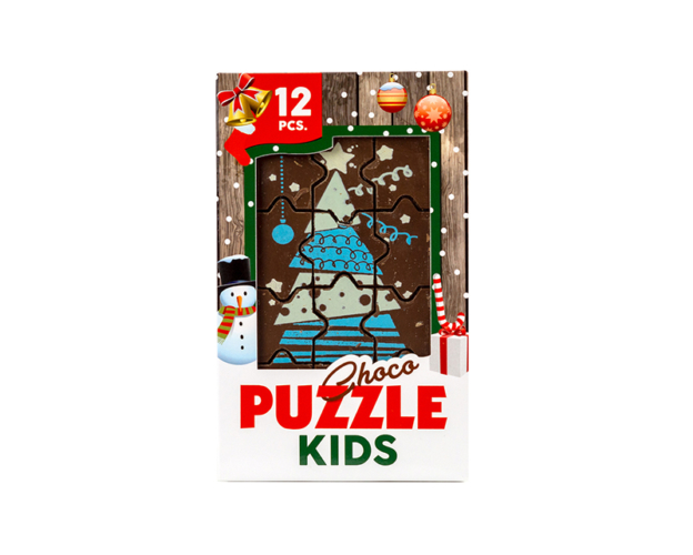 73146 Chocolate Christmas puzzle 76 gram