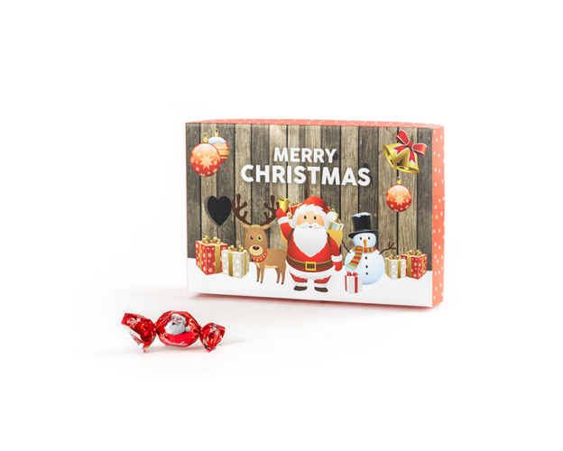 73238 Christmas box with pralines 250 gram