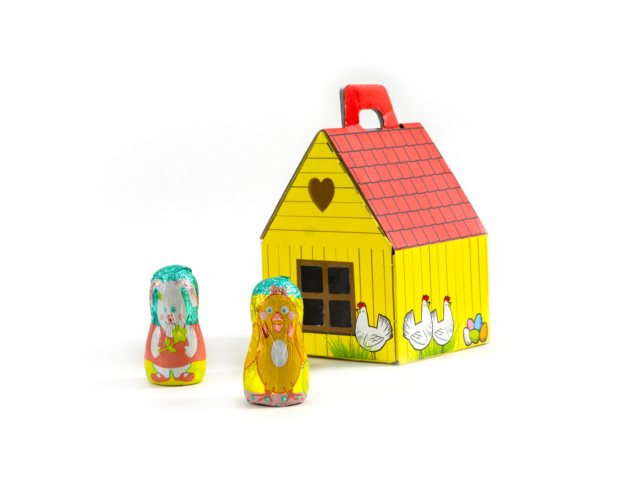 74167 Easter house small 60 gram