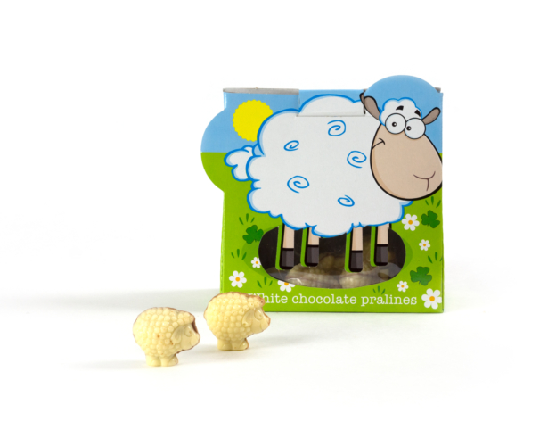 74457 Sheep bag with pralines 96 gram