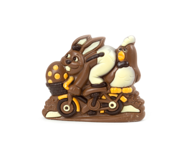 66217 Bunny on bicycle 185 gram