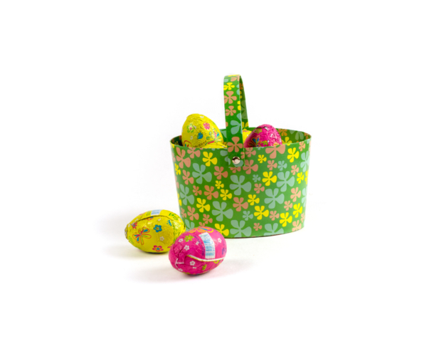 98900 Basket medium with 10 eggs 200 gram