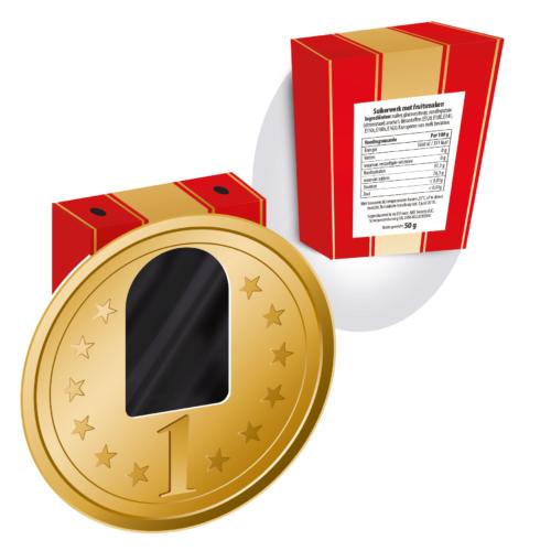 """Medal """"1"""" 50 gram"""