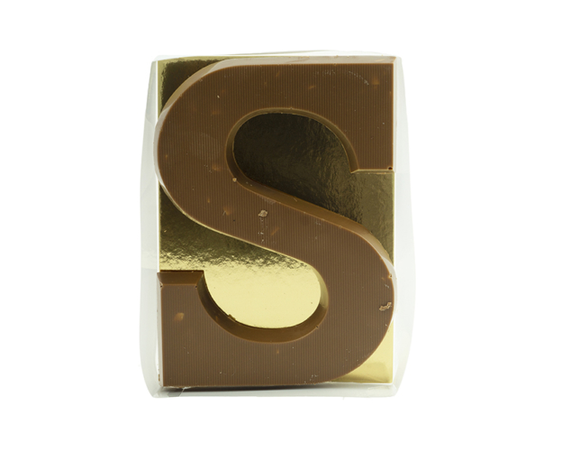 Chocolate letter Caramel 135 gram