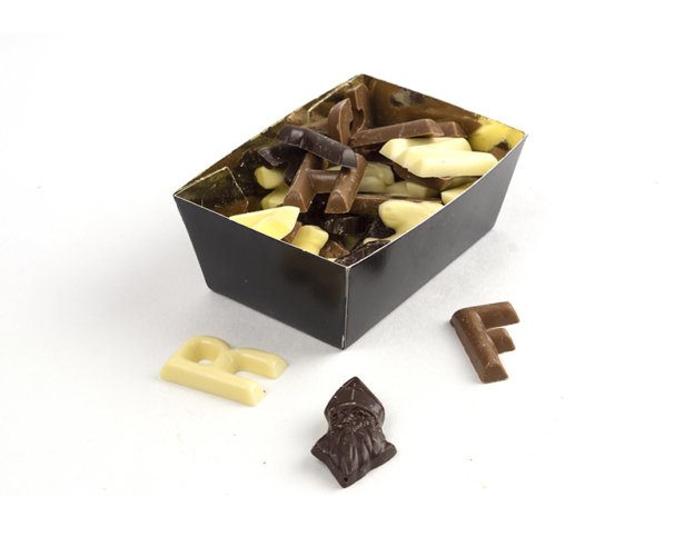 Chocolate letter mix (small) 175 gram