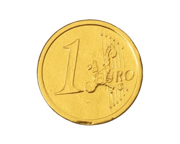 Coin 1 euro 25 gram