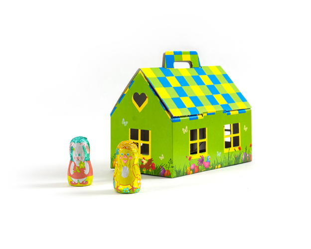 74310 Easter house large 200 gram