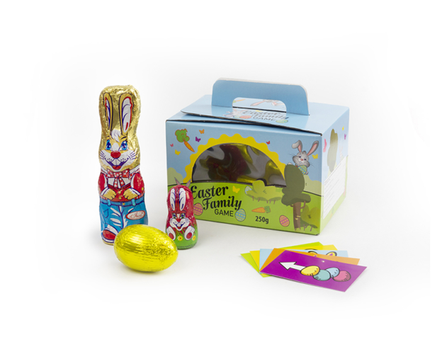74464 Easter Family game 250 gram