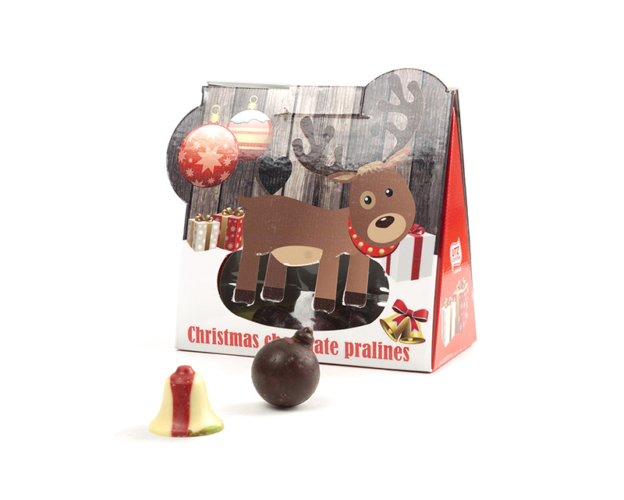 Christmas Chocolate Pralines 90 gram
