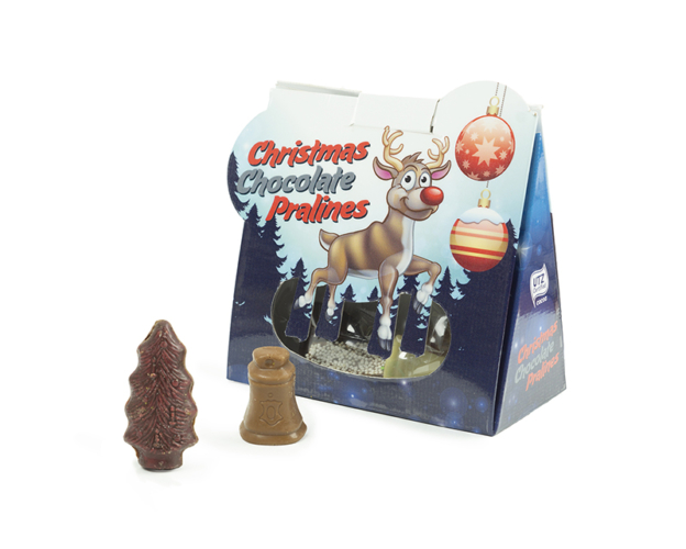 Christmas Chocolate Pralines B 90 gram