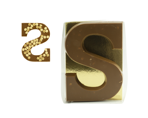 72187 Chocolate letter Speculoos 135 gram