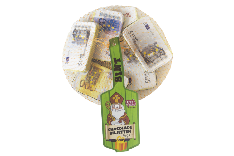 Chocolate Banknotes in Net 99 gram