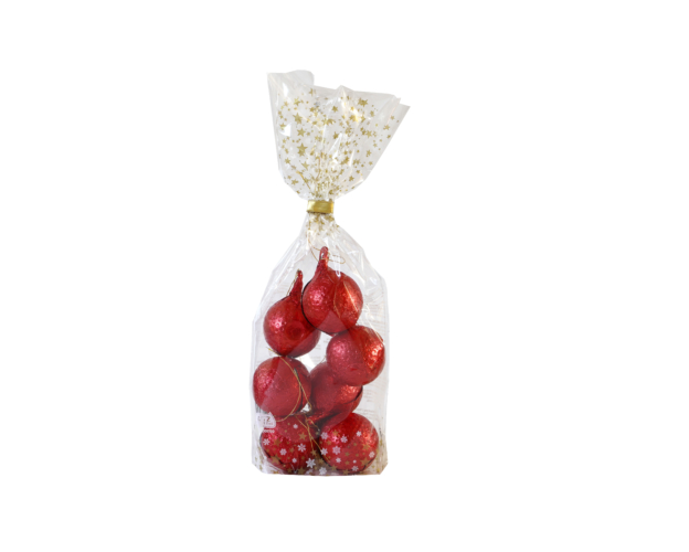 Christmas Balls Red 105 gram