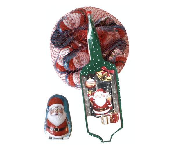 Filled Santa's in Net 100 gram