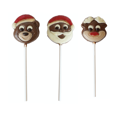 Chocolate Christmas Lollies 18 gram
