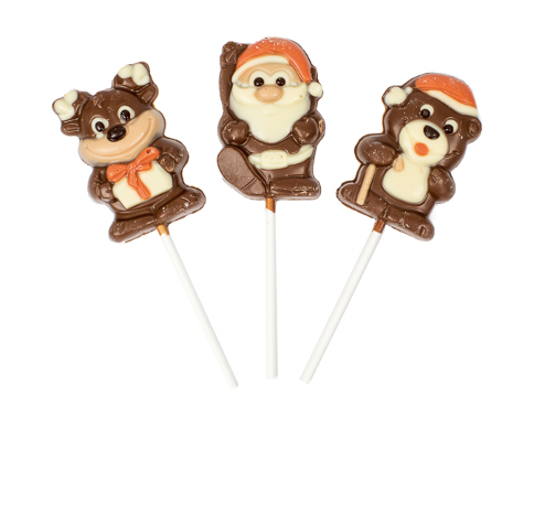 Chocolate Christmas Lollies 35 gram