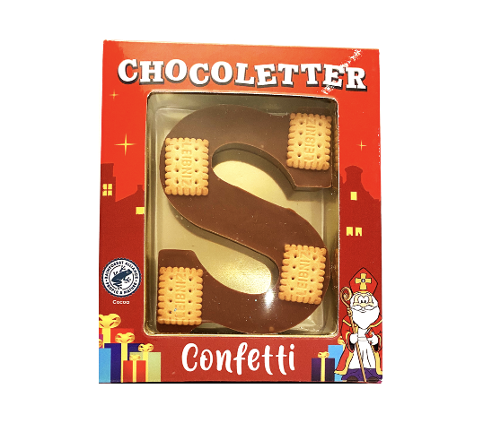 Chocolate Letter Biscuits 75 gram