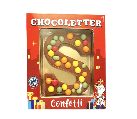 Chocolate Letter Popping Candy 75 gram