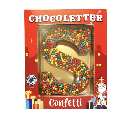 Chocolate Letter Mini Sour Pearls 75 gram