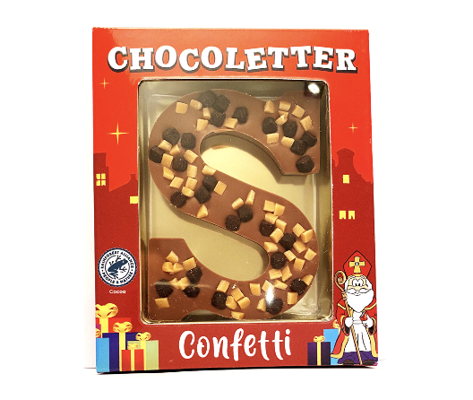 Chocolate Letter Fudge/Brownie 75 gram
