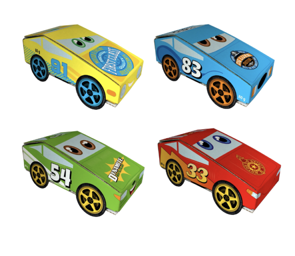 Race Cars with Jellies 60 gram