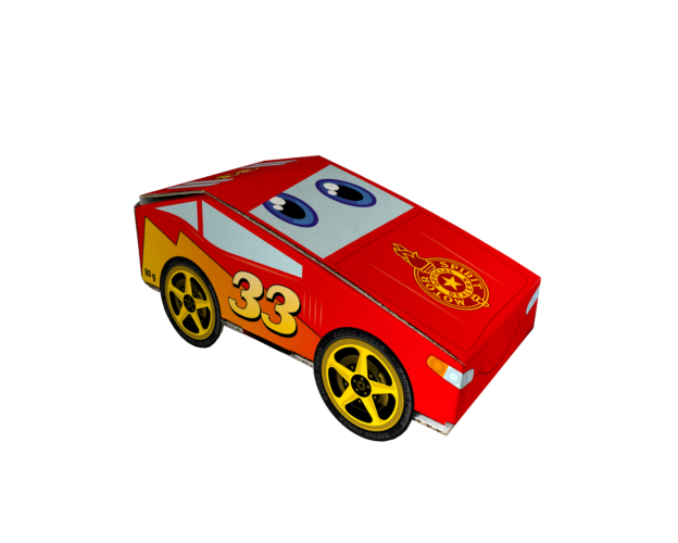 Race car with jellies 60 gram
