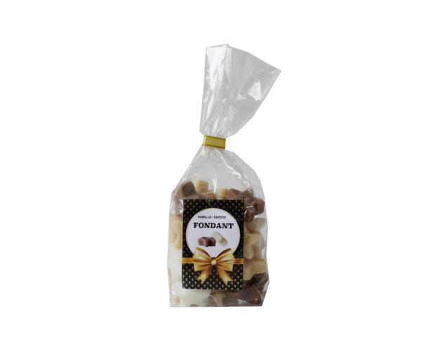 Vanilla-Chocolate Fondant Stars 200 gram