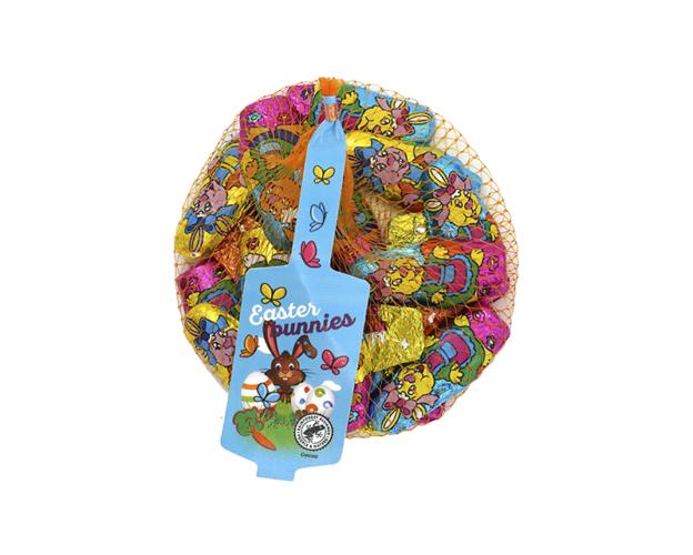 Net with easter bunnies 100 gram