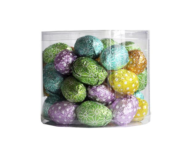 Easter eggs in tube 400 gram