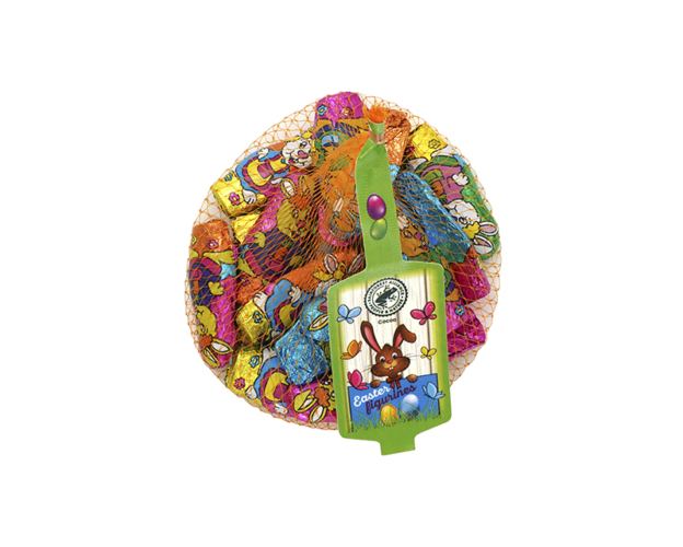 Net with easter figurines 100 gram