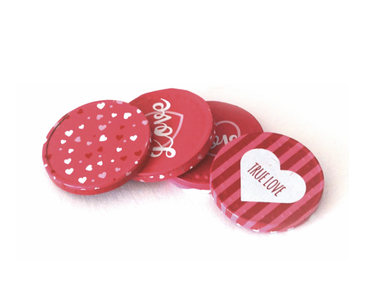 Net with love coins 72 gram