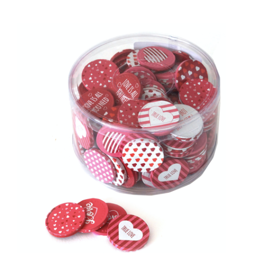 Silo with love coins 1000 gram