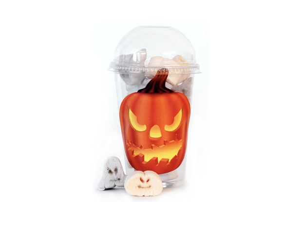 Cup with halloween marshmallow 65 gram