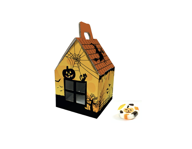 Halloween house with hard candy 60 gram