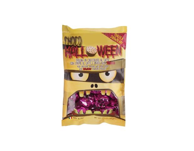 Halloween choco pralines strawberry 130 gram