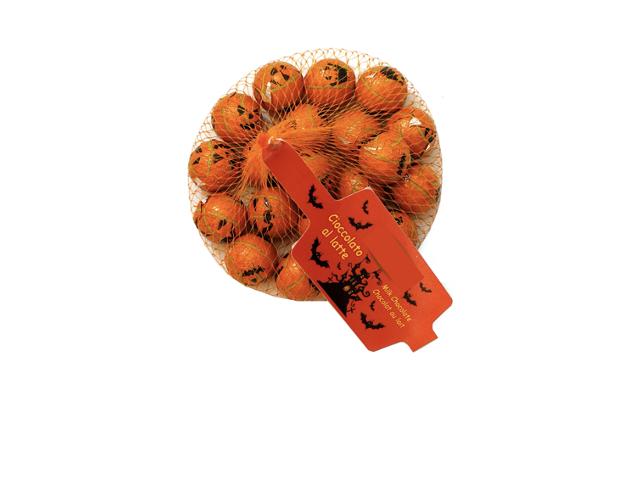 Net with filled pumpkins 100 gram