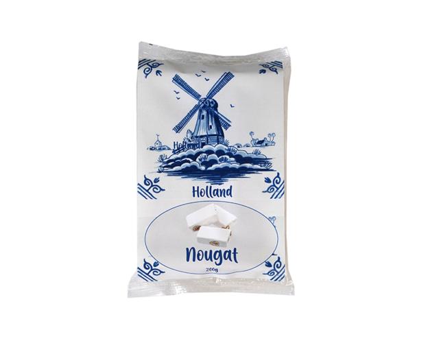 Delft blue nougat tray 180 gram